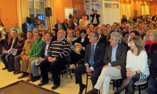 acto del Partido Popular celebrado en la Caseta Municipal