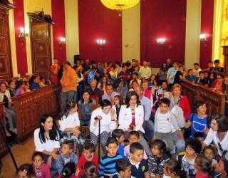 Entrega de premios  del Concurso Municipal de Narraciones y Marcapáginas Infantiles