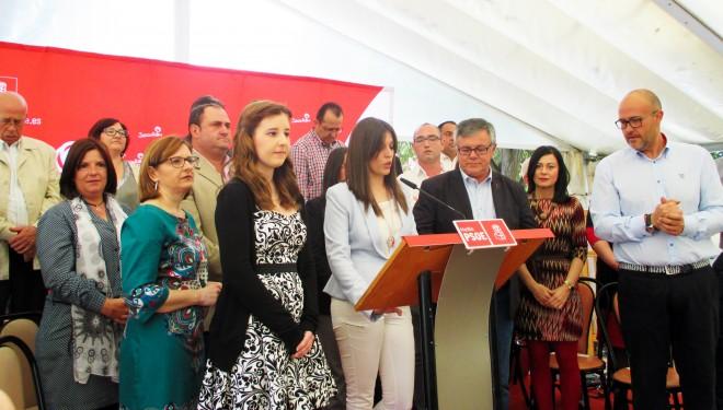 Presentación oficial de la candidatura del Partido Socialista