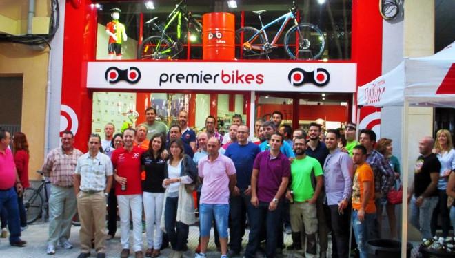 Inauguración nueva tienda de bicicletas 'Premier Bikes'
