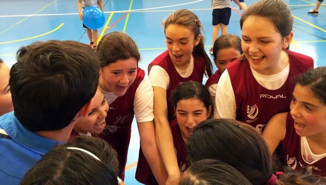 ADB Hellín Alevín femenino en el cuadro de honor del basket castellano-manchego