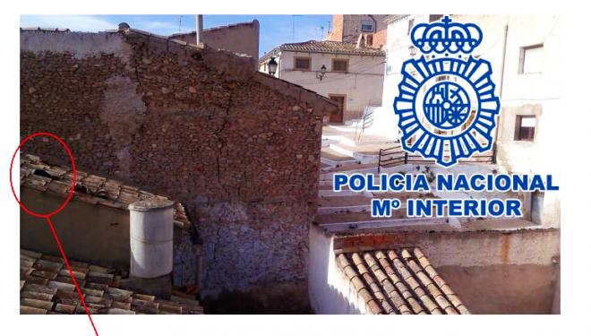 La Policía Nacional detiene en Hellín a un joven por robo con violencia