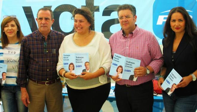 Fuertes criticas de la diputada regional Cesárea Arnedo a Ramón García