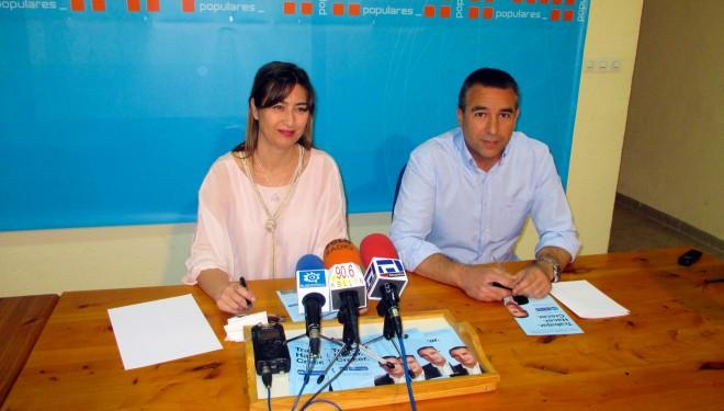 Covadonga López y Antonio Moreno dan comienzo al turno de ediles del Partido Popular