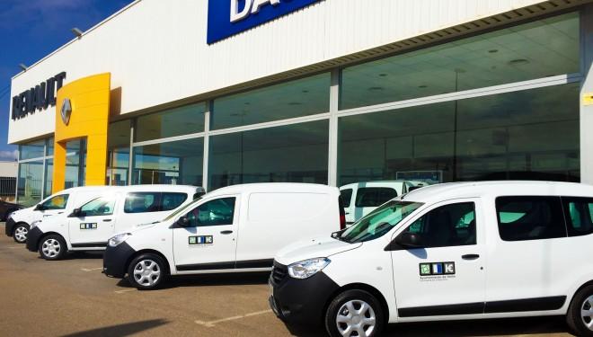 El Ayuntamiento adquiere siete nuevos vehículos
