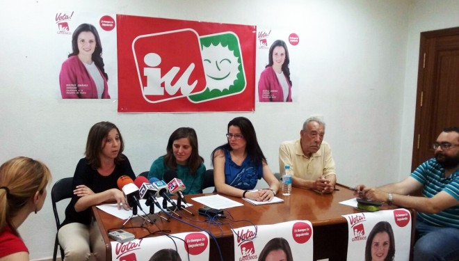 Izquierda Unida pide un plan integral de actuación para los barrios Calvario y La Ribera