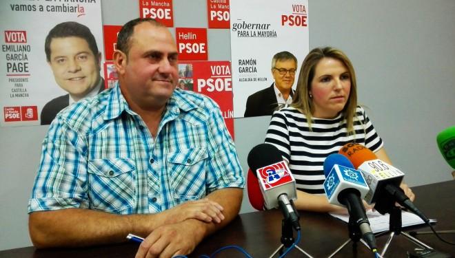El número tres de la lista del PSOE solicita una base contra incendios dotada de helicópteros