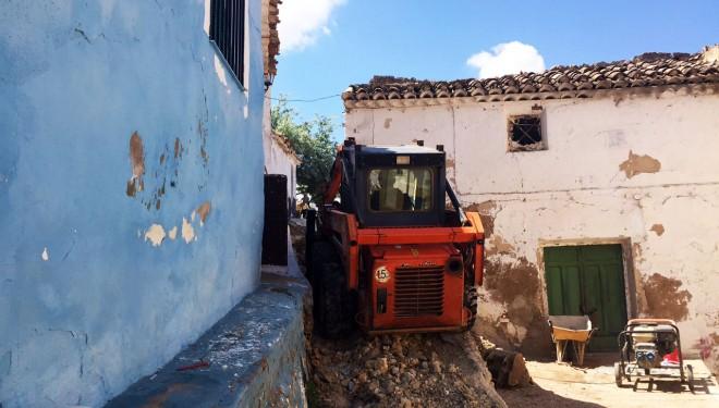Comienzan las obras de remodelación integral de la calle Peña Caída