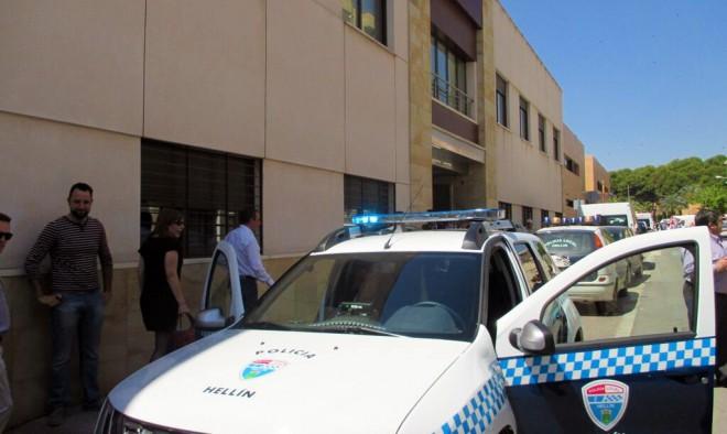 Nuevo coche de la Policía Local / EFDH