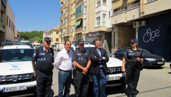 Dos nuevos vehículos para la Policía Local