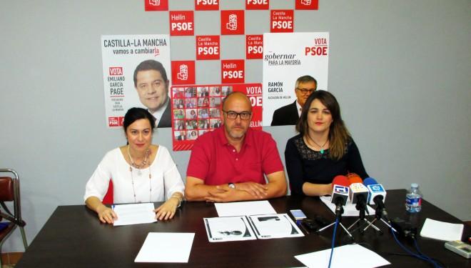 Los responsables de Juventud, Educación y Deporte del PSOE ponen sobre la mesa sus propuestas