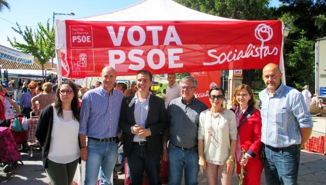 Los socialistas critican la política del PP con el agua de riego