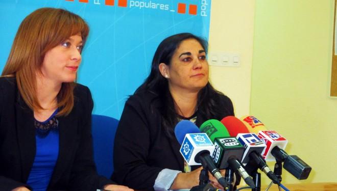 Margaret Fernández e Irene Moreno hablaron de subvenciones y empleo