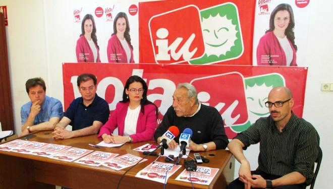 Izquierda Unida-Ganemos preparada para gobernar con Beatriz Jiménez