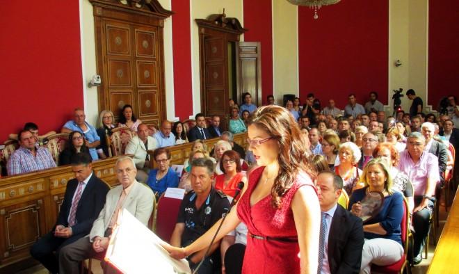 Beatriz Jiménez nueva concejal del Ayuntamiento de Hellín / EFDH