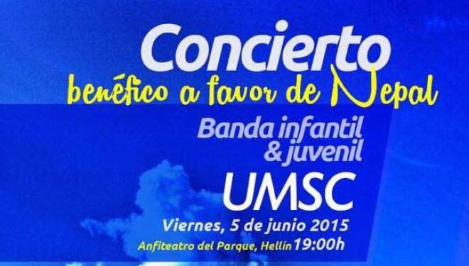 Concierto de la banda infantil de la Unión Musical Santa Cecilia de Hellín