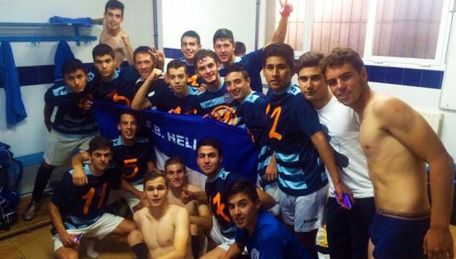 El Hellín Juvenil consigue el ascenso a la Liga Nacional