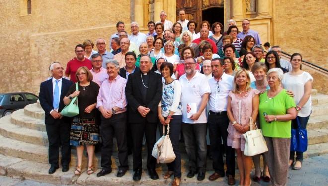 Visita del cardenal Maradiaga a Hellín