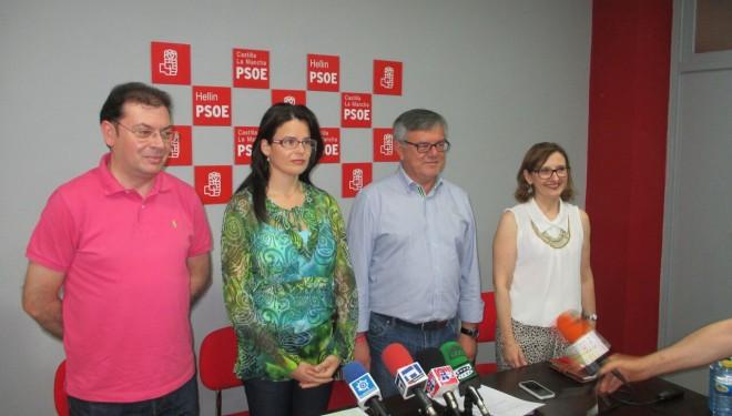 Firmado el documento de pacto de gobierno entre IU-Ganemos Hellín y el PSOE