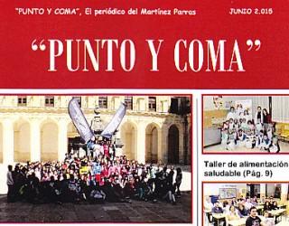 """""""Punto y Coma"""". El periódico del Martínez Parras"""