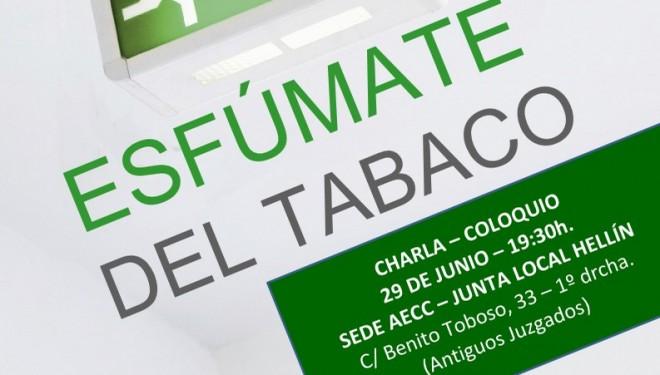 Charla sobre el tabaquismo