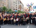 Éxito de los tamborileros hellineros en Alicante