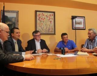 Ramón García se reúne en Toledo con el consejero  de Agricultura
