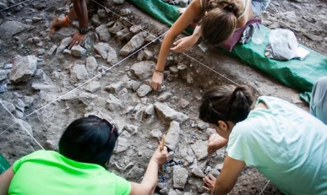 Excavaciones de los alumnos