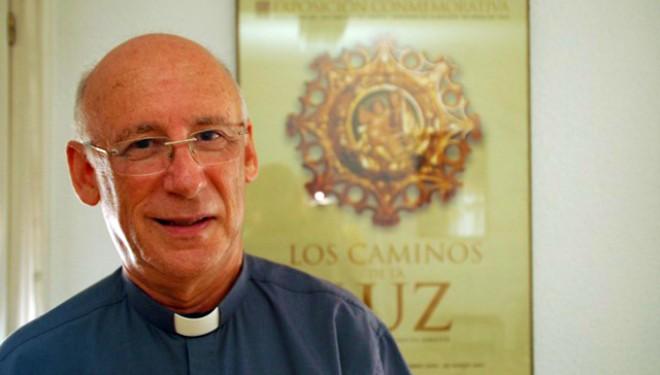 Ramón García se reúne con el Vicario de la Diócesis de Albacete