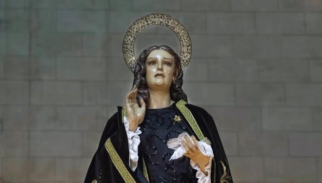 Misa en honor a Santa María Magdalena