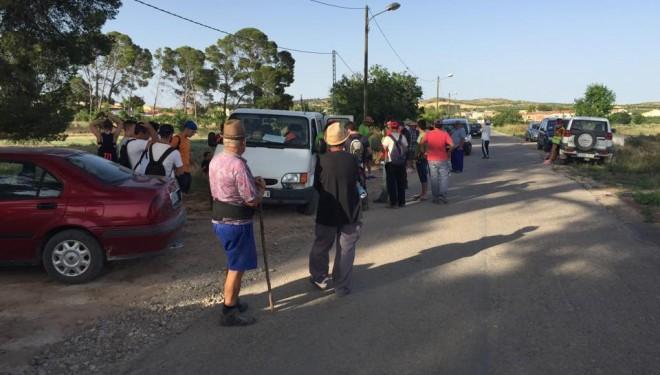 Sexto día de búsqueda de Francisca Jiménez