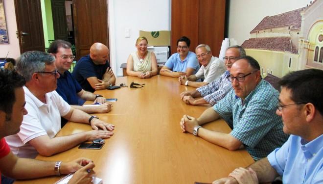 Primer contacto del alcalde con la Asociación de Cofradías y Hermandades