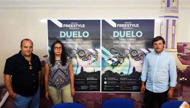 Espectáculo de Freestyle-motos acrobáticas para el primer domingo de Feria