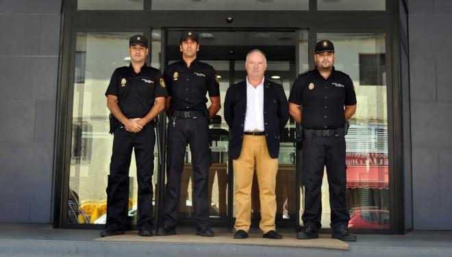 Tres nuevos funcionarios se integran a la Comisaría de la Policía Nacional