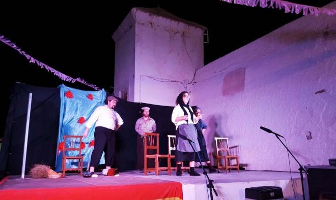 Teatro de calle en las Fiestas de San Rafael