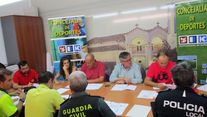 La reunión de seguridad ata cabos para la realización del Triatlón Valle de Agramón
