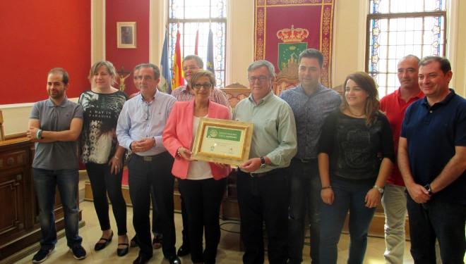 Reconocimiento de Hellín como Ciudad Solidaría con el Alzheimer