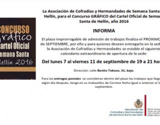Concurso del Cartel de Semana Santa 2016