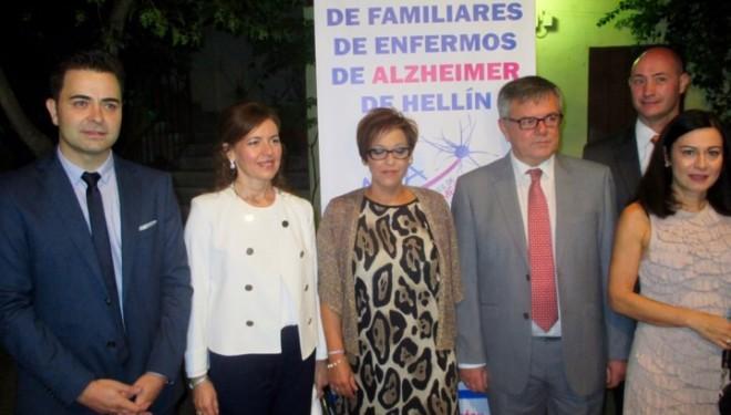 La consejera de Bienestar Social muestra su apoyo a AFA