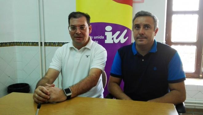 Los diputados provinciales de IU-Ganemos realizan una visita a Nava de Campaña