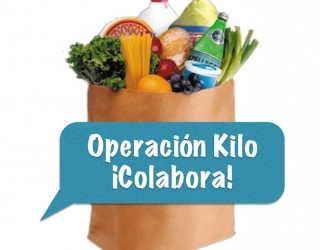 Operación Kilo a favor del economato de Cáritas