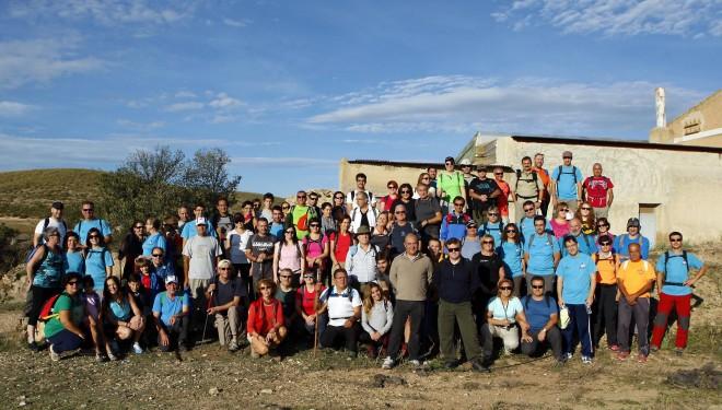 El agua protagonista de la ruta de senderismo organizada en Tobarra