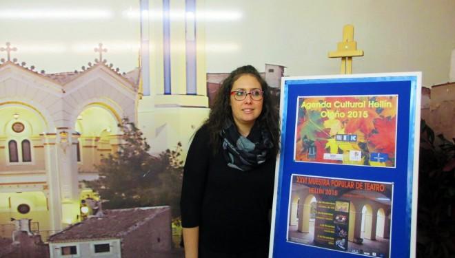 Fabiola Jiménez presenta la Agenda Cultural de Hellín Otoño 2015