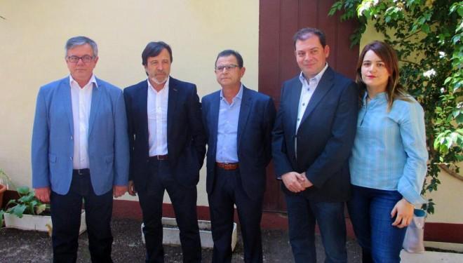 Artemio Pérez y Ramón García de acuerdo en la urgencia de luchar contra el desempleo