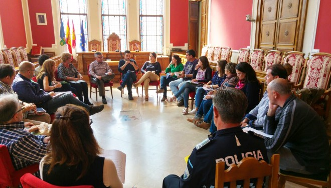 Nuevas líneas de trabajo para los barrios del Calvario y la Ribera