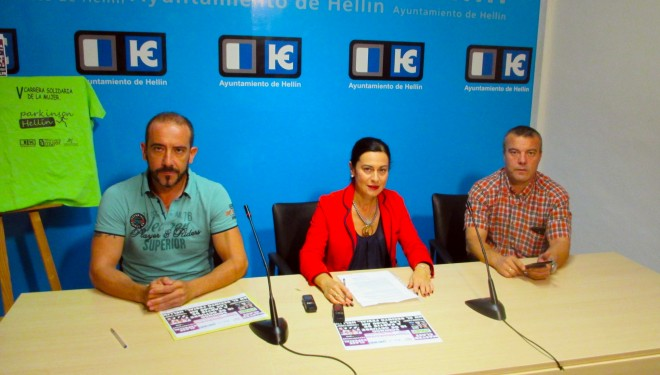 Presentación de la V carrera Solidaria y la XXVIII Media Maratón