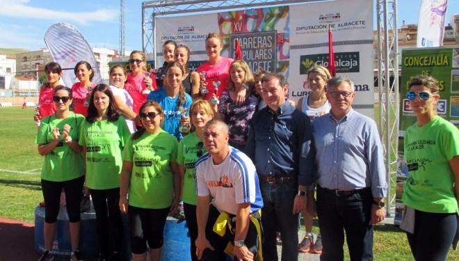 Pedro Amores y Teresa Nimes ganadores de la XXVIII Media Maratón Ciudad de Hellín