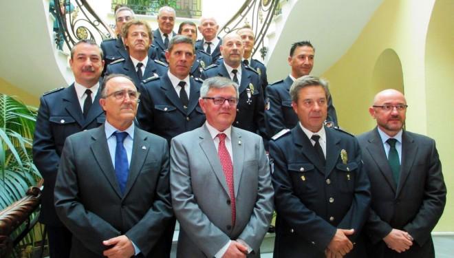 La Policía Local festeja el día de San Rafael