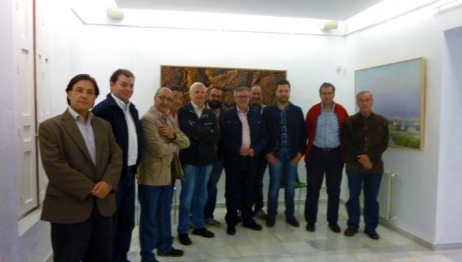 Primera  reunión de la comisión formada para la apertura del Museo de Semana Santa