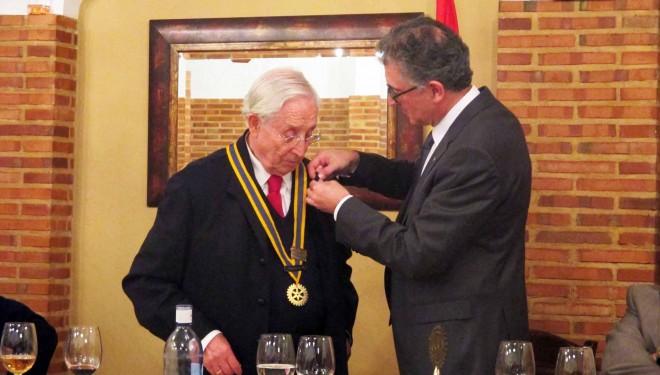 Cambio de Collares en el Club Rotario de Hellín